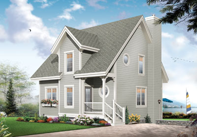 Country Style Floor Plans Plan: 5-668