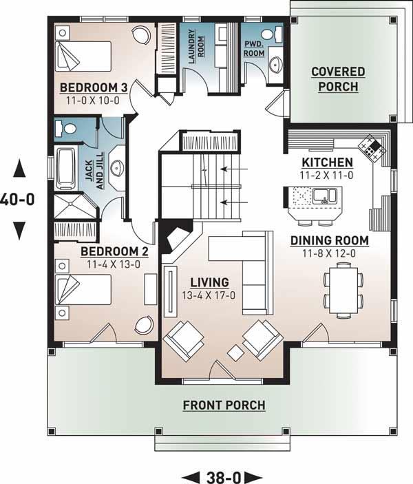 Main Floor Plan: 5-670