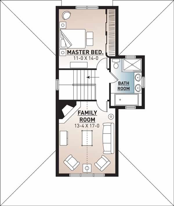 Upper/Second Floor Plan: 5-670