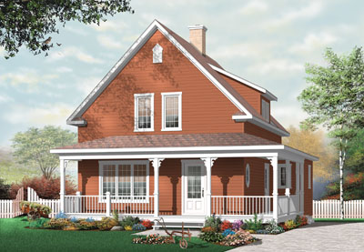 Country Style House Plans Plan: 5-671