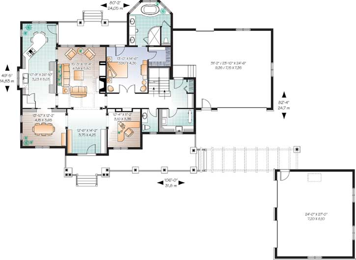 Main Floor Plan: 5-675