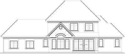 Rear Elevation Plan: 5-676