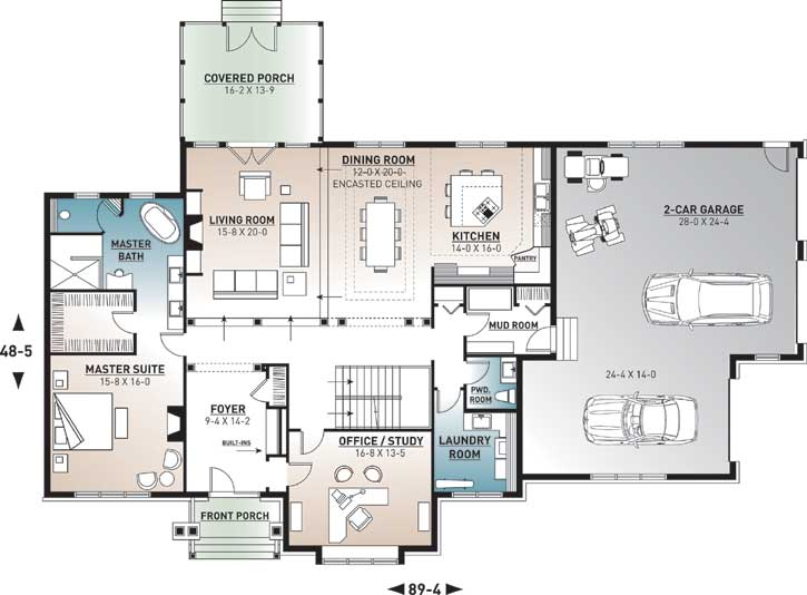 Main Floor Plan: 5-677