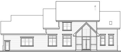 Rear Elevation Plan: 5-677