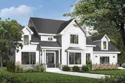 Traditional Style Home Design Plan: 5-677