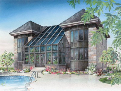Contemporary Style House Plans Plan: 5-681