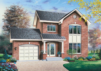 Traditional Style House Plans Plan: 5-682