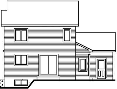 Rear Elevation Plan: 5-682