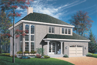European Style Floor Plans Plan: 5-684