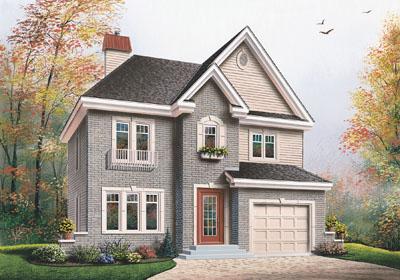 European Style House Plans Plan: 5-685
