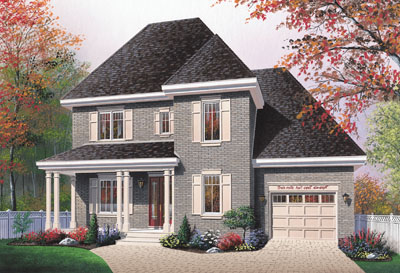 Country Style House Plans Plan: 5-692