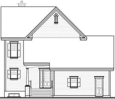 Rear Elevations Plan:5-699