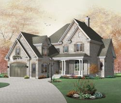 Traditional Style House Plans Plan: 5-701