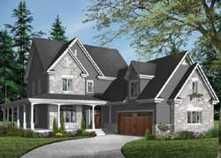 Traditional Style Floor Plans Plan: 5-703