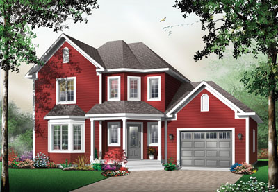 Traditional Style House Plans Plan: 5-707