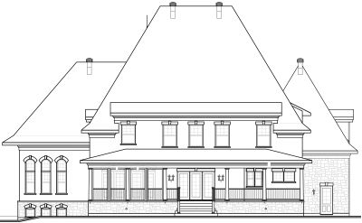 Rear Elevation Plan: 5-712