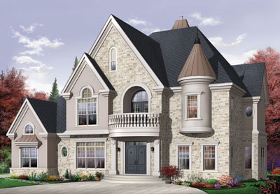 European Style Floor Plans Plan: 5-714