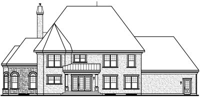 Rear Elevation Plan: 5-715