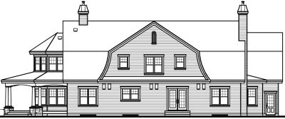 Rear Elevation Plan: 5-716