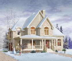 Country Style House Plans Plan: 5-721