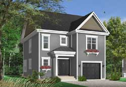 Colonial Style Floor Plans Plan: 5-722