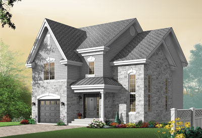European Style House Plans Plan: 5-724