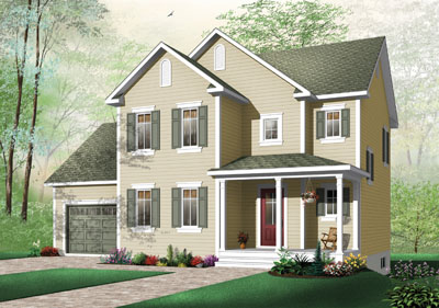 Country Style House Plans Plan: 5-725