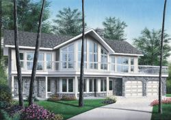 Contemporary Style House Plans Plan: 5-744