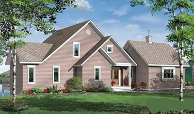 Traditional Style Floor Plans Plan: 5-748