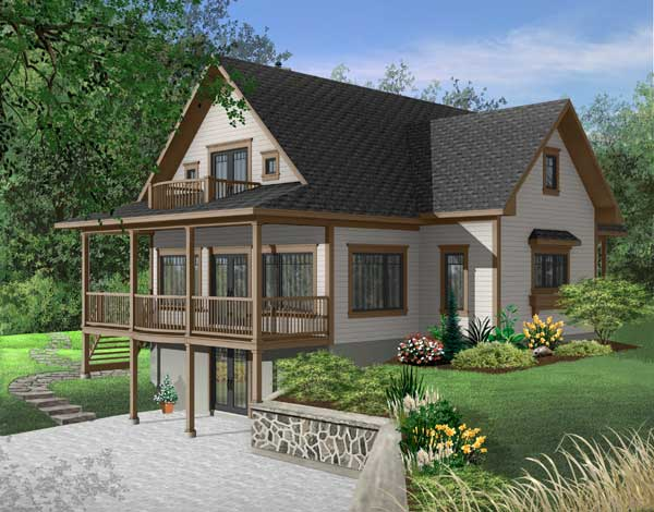 Waterfront Style House Plans