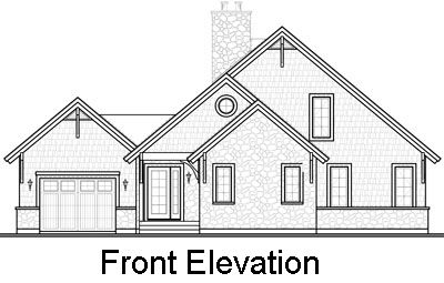 Rear Elevation Plan: 5-752