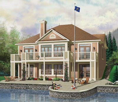 Traditional Style Floor Plans Plan: 5-756