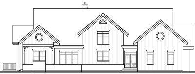 Rear Elevation Plan: 5-757