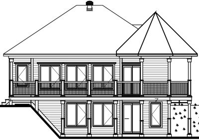 Rear Elevation Plan: 5-759