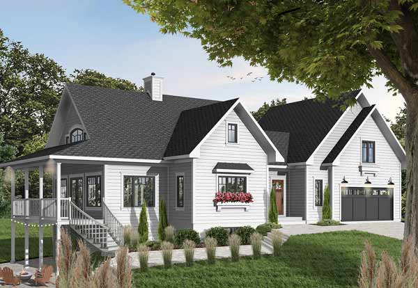 Country Style Floor Plans Plan: 5-760