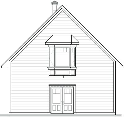 Rear Elevation Plan: 5-761