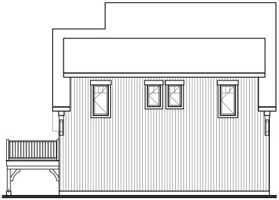 Rear Elevation Plan: 5-762