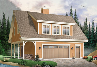 Bungalow Style House Plans Plan: 5-764