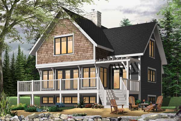 Traditional Style Floor Plans Plan: 5-765