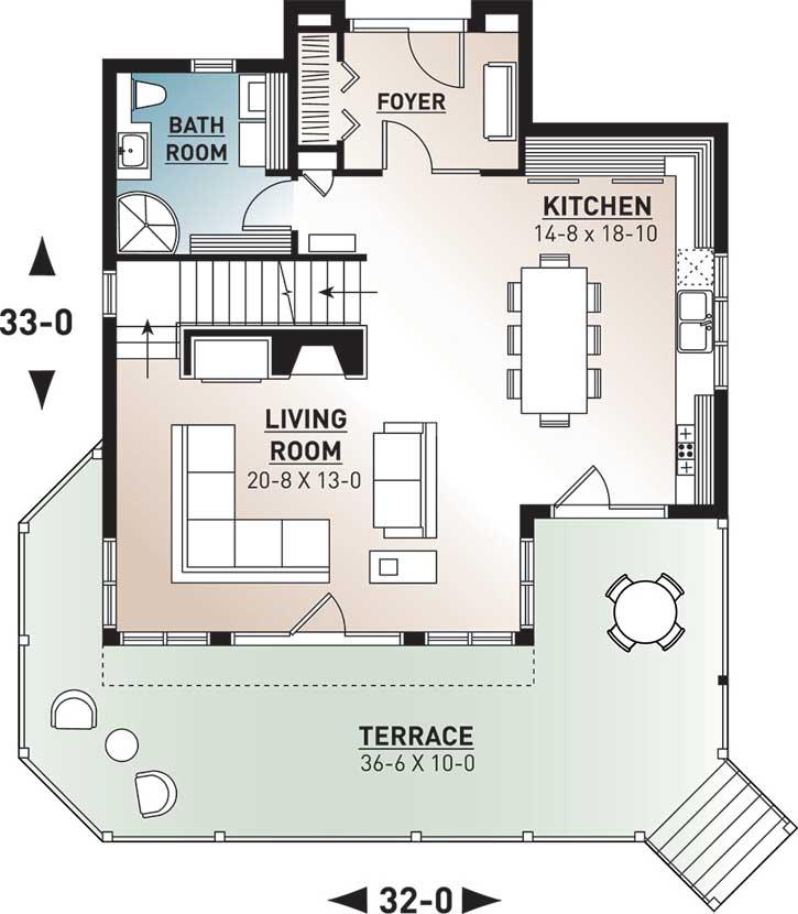 Main Floor Plan: 5-765
