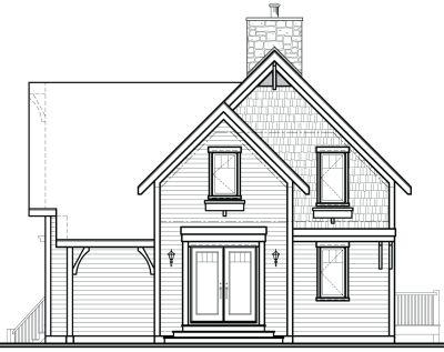 Rear Elevation Plan: 5-765