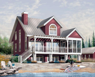 Cottage Style House Plans Plan: 5-766
