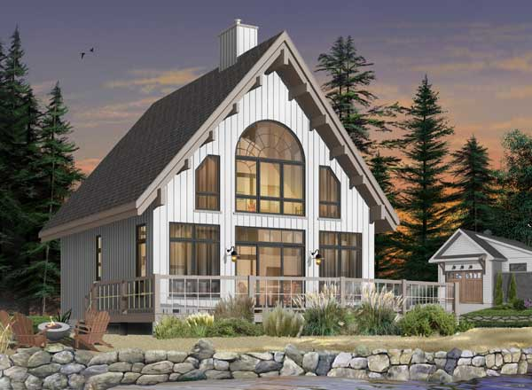 Cottage Style House Plans 5-767