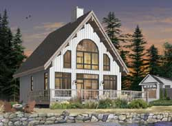 Cottage Style Floor Plans Plan: 5-767