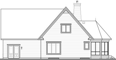 Rear Elevation Plan: 5-769