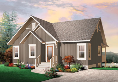 Traditional Style House Plans Plan: 5-770