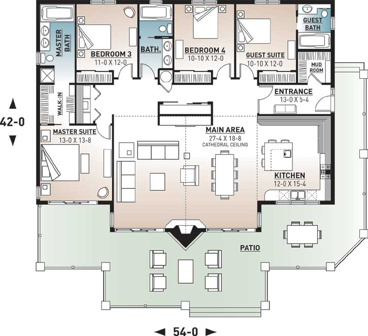 Main Floor Plan: 5-771