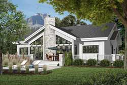 Contemporary Style Floor Plans Plan: 5-771