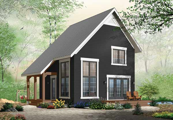 Traditional Style Home Design Plan: 5-775
