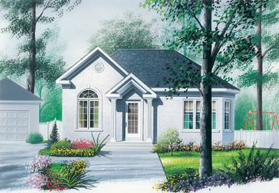 Traditional Style Floor Plans Plan: 5-784